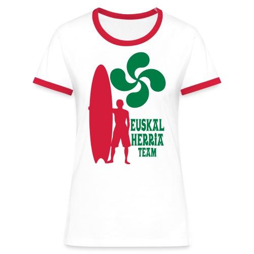 Basque surfing team - Women's Ringer T-Shirt