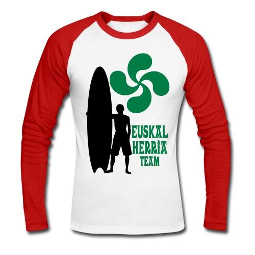 Basque surfing team - Men's Long Sleeve Baseball T-Shirt