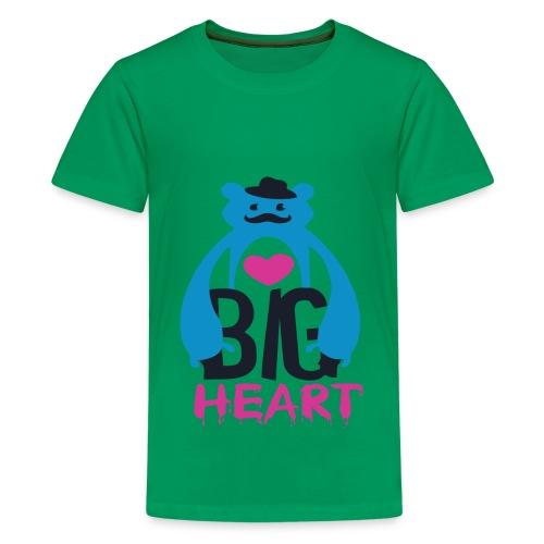 Big Heart - Teenage Premium T-Shirt