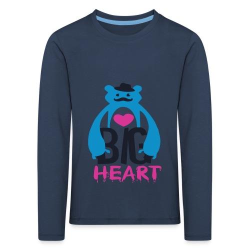 Big Heart - Kids' Premium Longsleeve Shirt