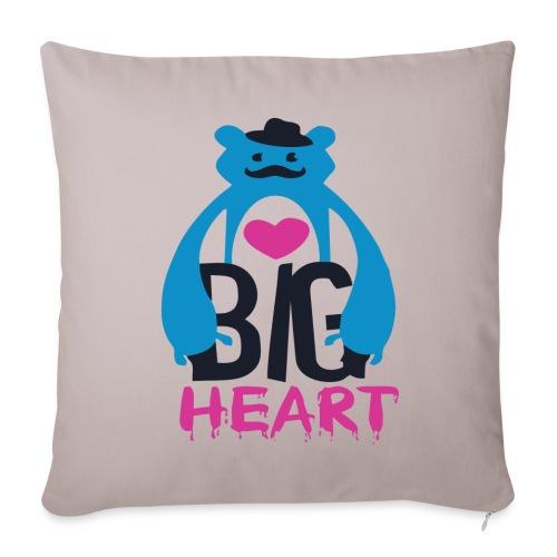 Big Heart - Sofa pillow cover 44 x 44 cm