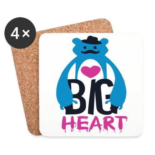 Big Heart - Coasters (set of 4)
