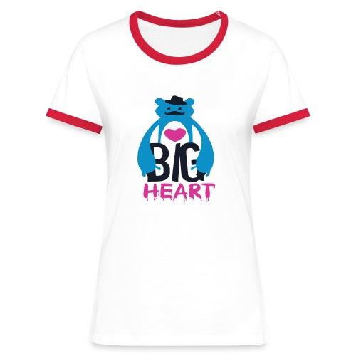 Big Heart - Women's Ringer T-Shirt