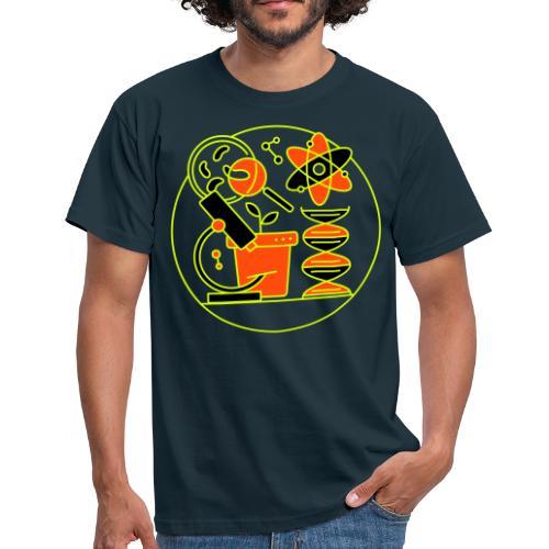 T shirt logo scienza - Maglietta da uomo