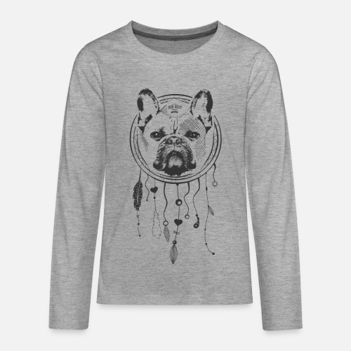 French Bulldog Dream - Teenager Premium Langarmshirt
