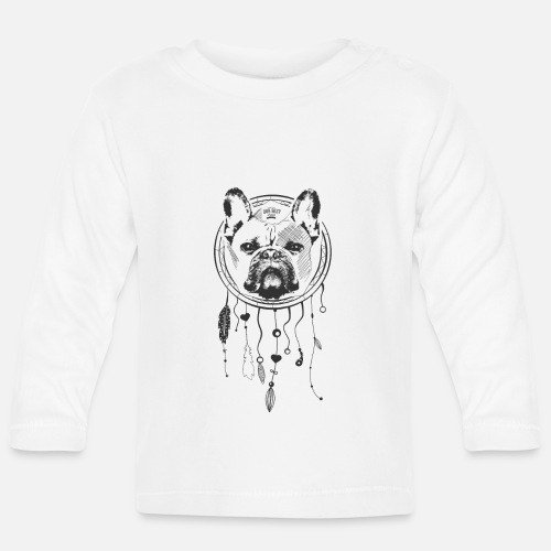 French Bulldog Dream - Baby Langarmshirt