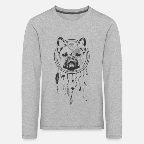 French Bulldog Dream - Kinder Premium Langarmshirt