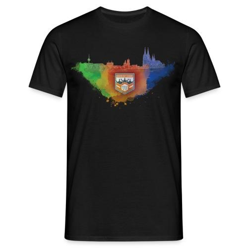 Männer Shirt MD CGN Watercolor - Männer T-Shirt