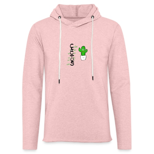 Sweat Cactus - Sweat-shirt à capuche léger unisexe