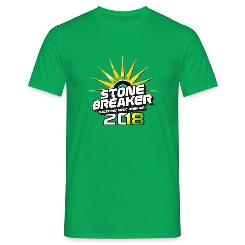 T-Shirt #Stonebreaker 2018 - Männer T-Shirt