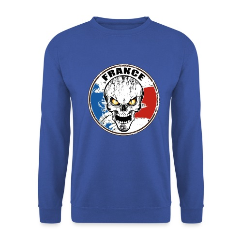 France skull - Sweat-shirt Homme