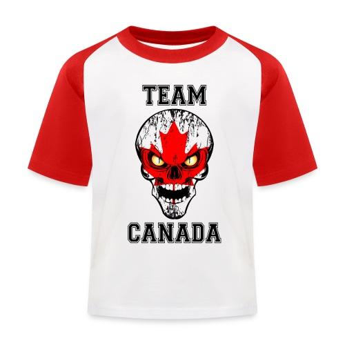 Team Canada - T-shirt baseball Enfant