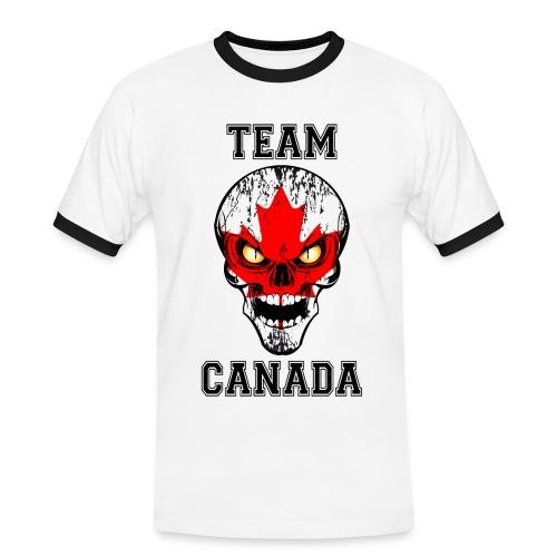 Team Canada - T-shirt contrasté Homme