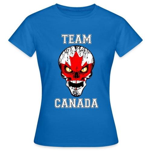 Team Canada - T-shirt Femme