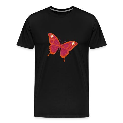 Papillion Suisse - Männer Premium T-Shirt