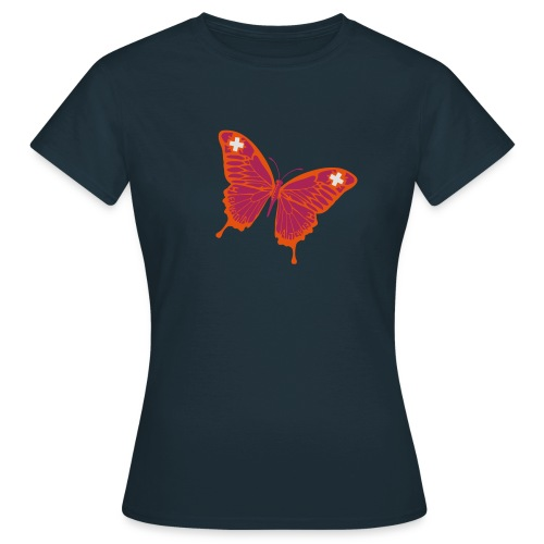 Papillion Suisse - Frauen T-Shirt