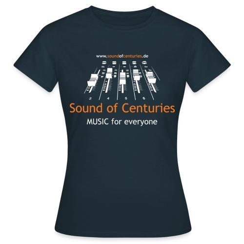 nur front Logo Frauen - Frauen T-Shirt