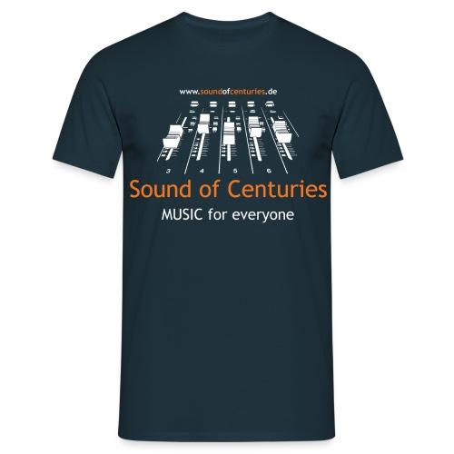 nur front Logo - Männer T-Shirt