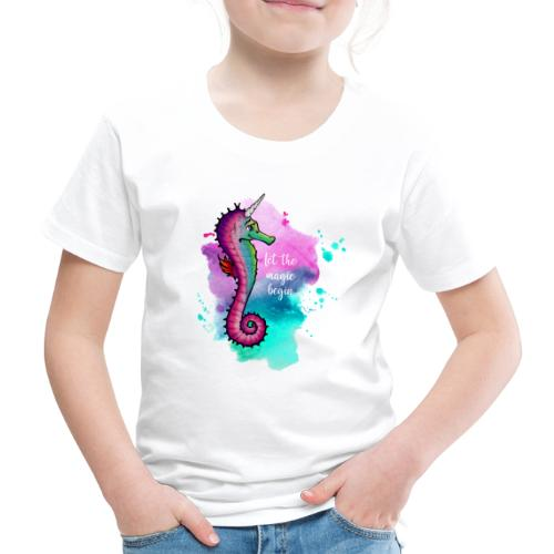 Premium Shirt – Seahorse Unicorn (Kinder) - Kinder Premium T-Shirt
