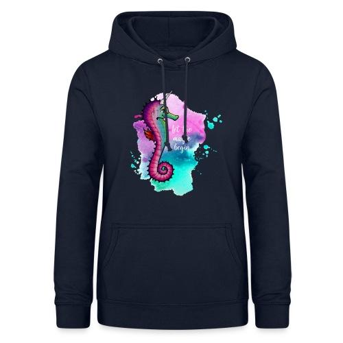 Hoodie – Seahorse Unicorn (Mädels) - Frauen Hoodie