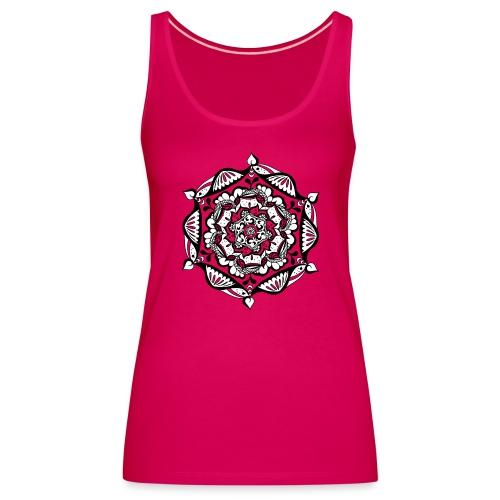 Premium Tank Top – Mandala Flower (Mädels) - Frauen Premium Tank Top