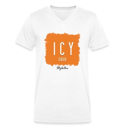 ICY COLD  - Männer Bio-T-Shirt mit V-Ausschnitt von Stanley & Stella