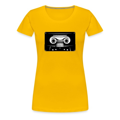 Ionic Cassette Tee (Women's) - Women's Premium T-Shirt