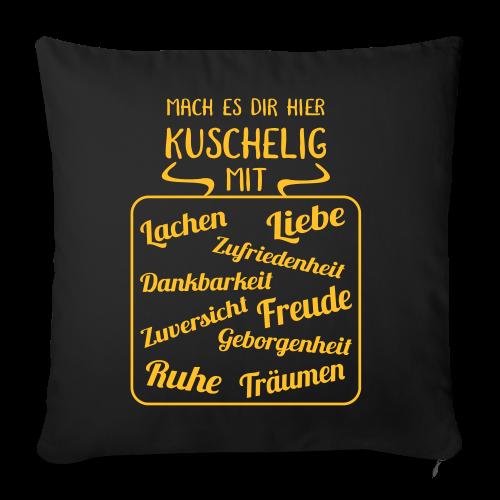 Lachen Liebe Kuschelig Kissenbezug Geschenk Spruch Sonstige - Sofakissenbezug 44 x 44 cm