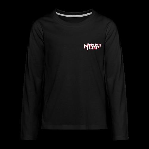 NTBBS Long Sleeve - Teenagers' Premium Longsleeve Shirt