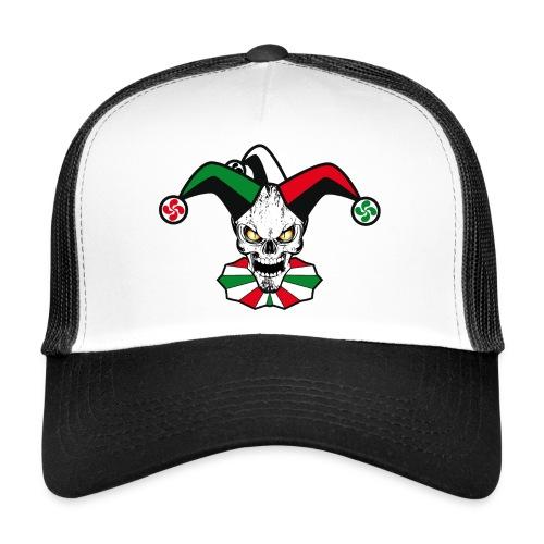 Basque skull harlequin - Trucker Cap