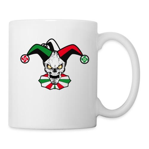Basque skull harlequin - Mug blanc