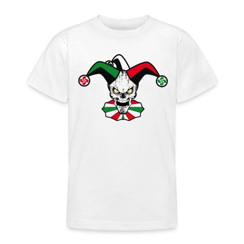 Basque skull harlequin - T-shirt Ado