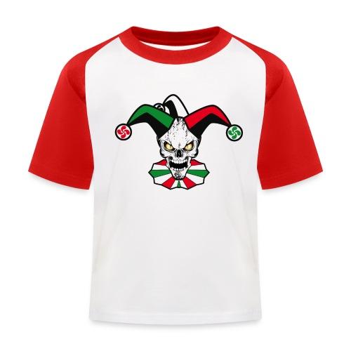 Basque skull harlequin - T-shirt baseball Enfant