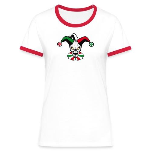 Basque skull harlequin - T-shirt contrasté Femme