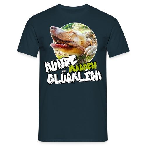 HUNDE MACHEN GLÜCKLICH - Männer T-Shirt