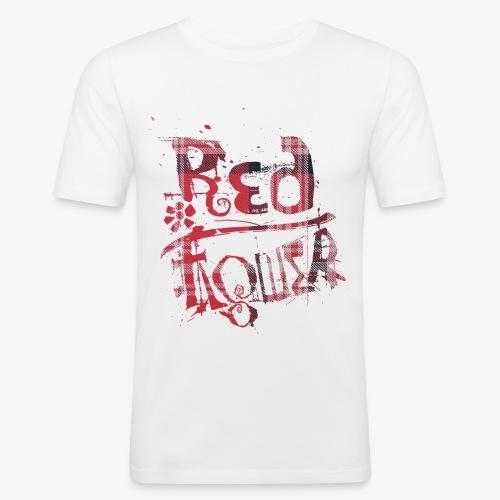 rf05 - red&black - Männer Slim Fit T-Shirt