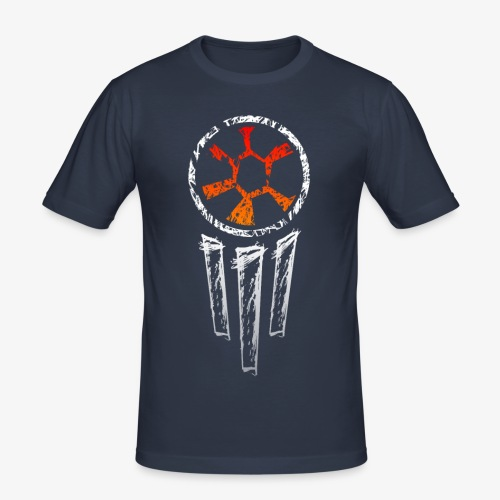 rf07 - dreamcatcher (w) - Männer Slim Fit T-Shirt