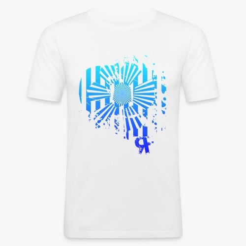rf12 - rainbow - Männer Slim Fit T-Shirt