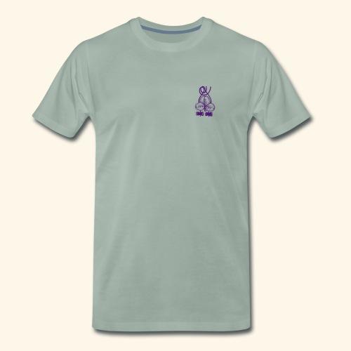 Standard t-shirt, drömfångare på ryggen, TG på bröstet - Premium-T-shirt herr