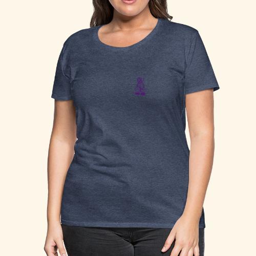 Standard t-shirt, drömfångare på ryggen, TG på bröstet - Premium-T-shirt dam