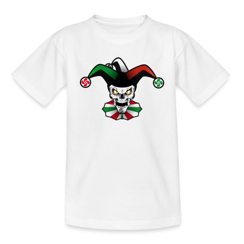 Basque skull arlequin - T-shirt Enfant
