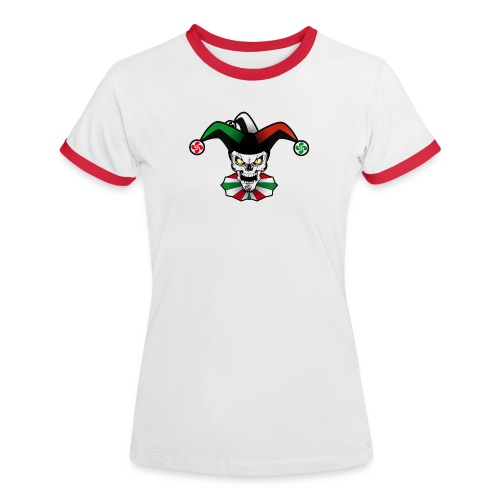Basque skull arlequin - T-shirt contrasté Femme