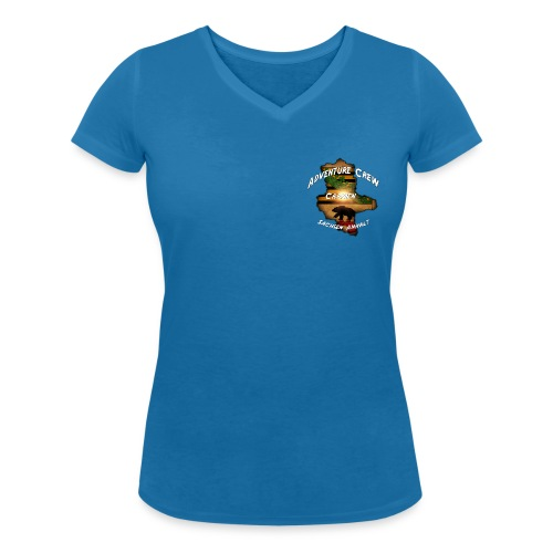 Carmen - Frauen Bio-T-Shirt mit V-Ausschnitt von Stanley & Stella