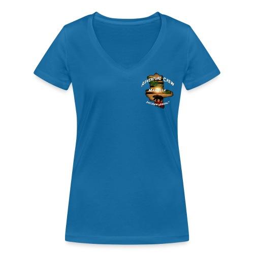 Mariella - Frauen Bio-T-Shirt mit V-Ausschnitt von Stanley & Stella