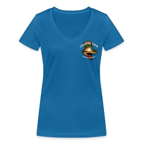 Antje - Frauen Bio-T-Shirt mit V-Ausschnitt von Stanley & Stella