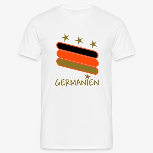 Deutschland Fußball Shirt 1 - Männer T-Shirt