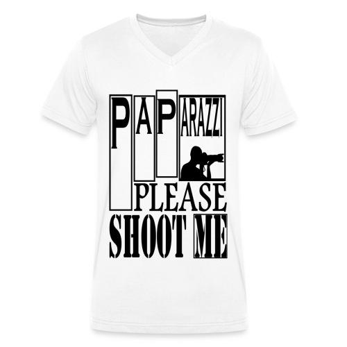 T-shirt Homme Paparazi - T-shirt bio col V Stanley & Stella Homme