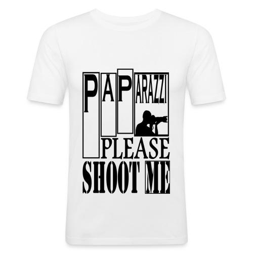 T-shirt Homme Paparazzi - T-shirt près du corps Homme