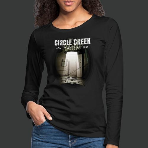 Circle Creek - Anger - Frauen Premium Langarmshirt