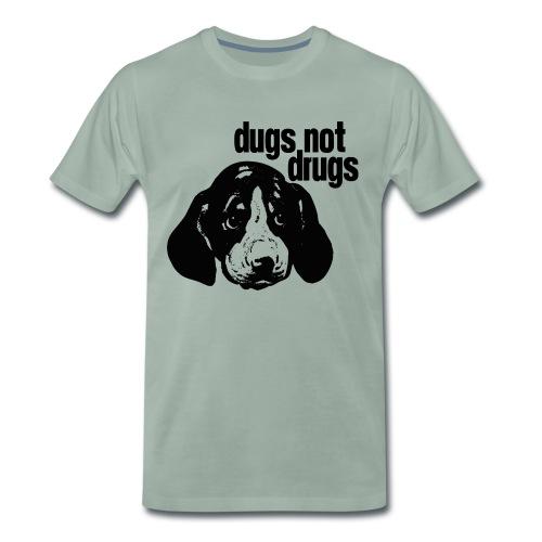 Dugs not Drugs - Men's Premium T-Shirt